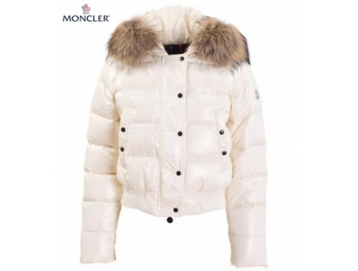 1d4d0e04d711 Doudoune Moncler Alpin Blanc Court,moncler bruxelles,soldes,Moncler Pas Cher  Soldes Outlet