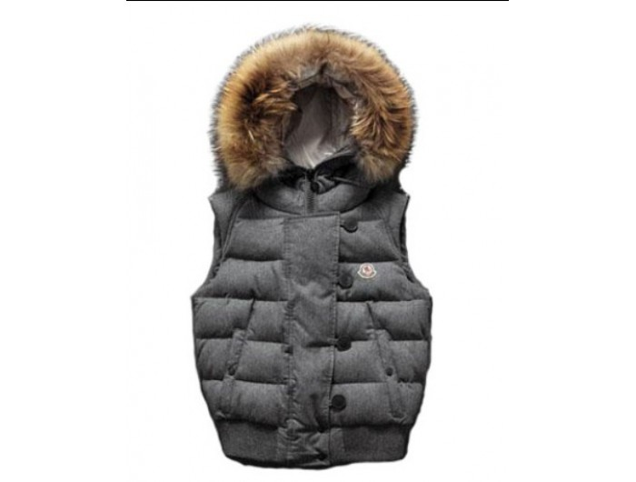 Gris survetement Moncler Moncler de Tran Super Promotions Gilet H44qAWSnwB