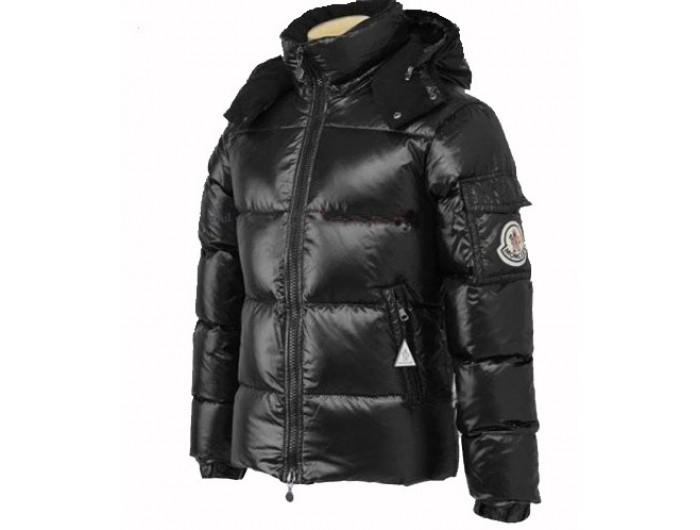 780f18b9e377 Doudoune Moncler Himalaya Noir Brillant,prix doudoune moncler,Officielle