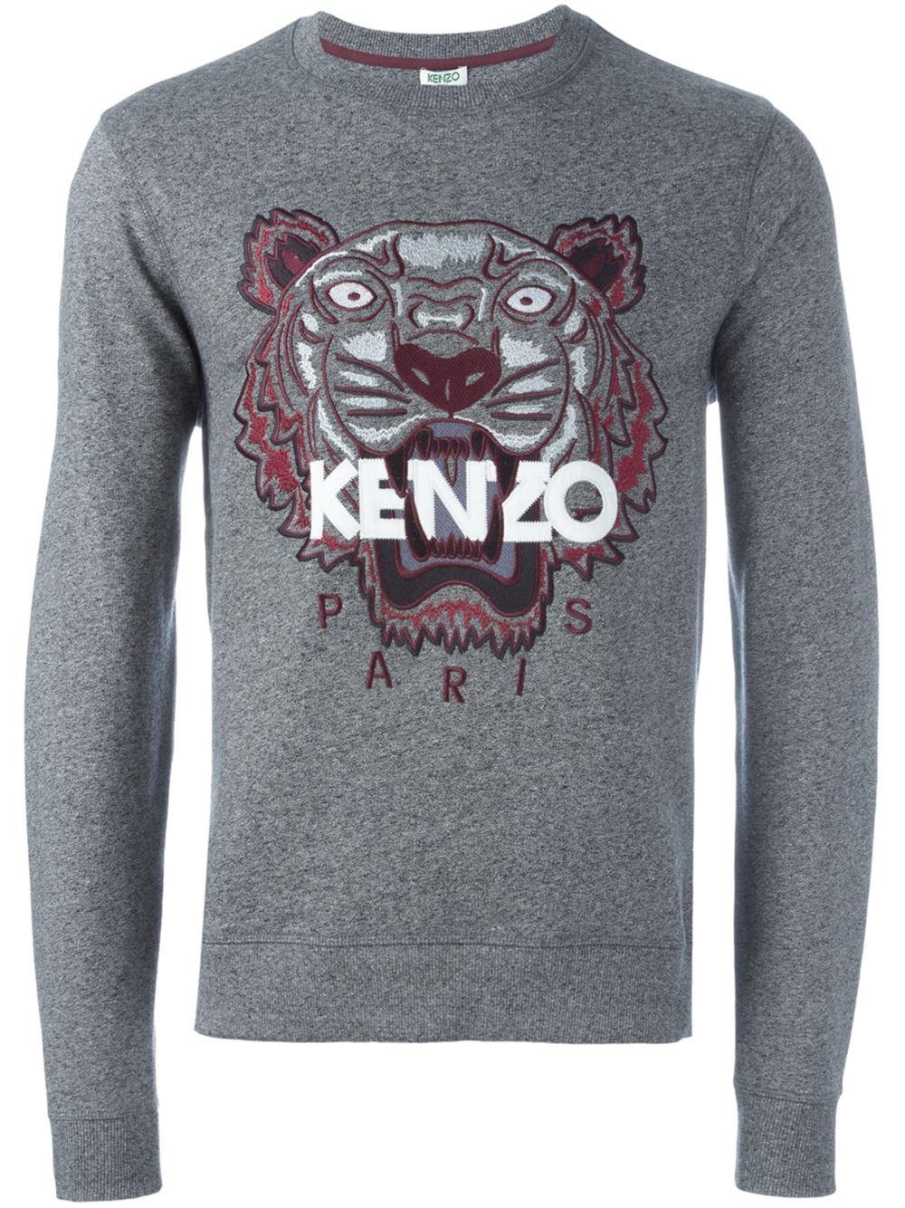 kalifornia bag cher Kenzo kenzo pas Clothing Tiger pull Homme black ZxYYqXOp adbef4b159e