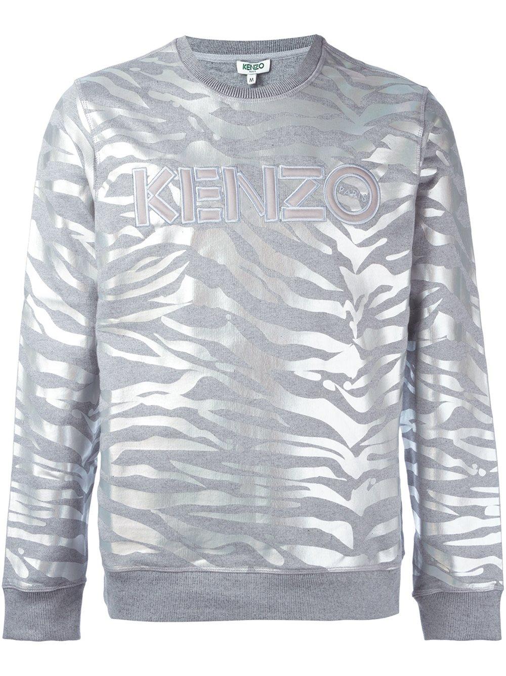 Stripes dernière Kenzo Tiger Clothing Homme Sweat Tiger sac AxUqxS