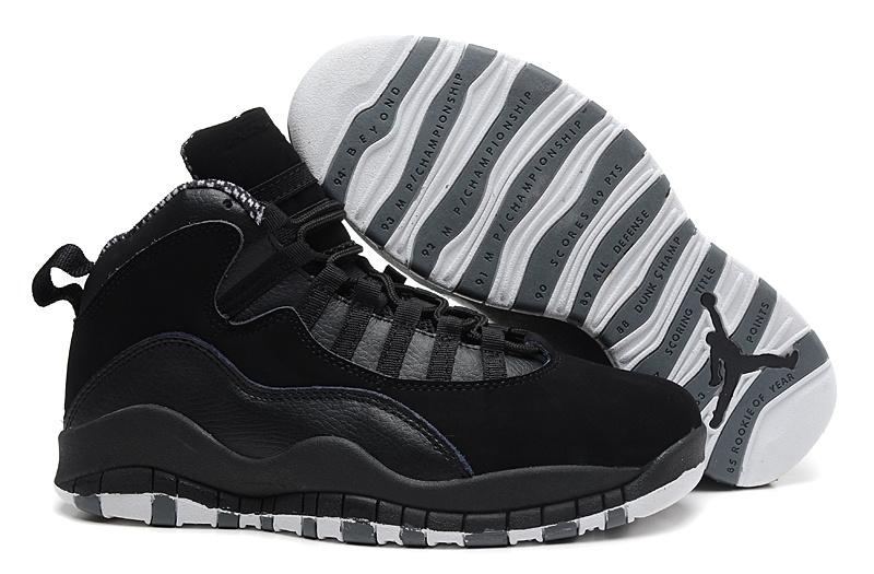 ... gratuite,nike · Air Jordan 10 Homme Femme Jordan Finest Chaussure Air  Jordan 10 Retro Pas Cher Noir Marine ...