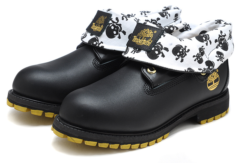 Homme Top Timberland 2016 Noire Mode Earthkeepers Roll Bottes ZBEqvwa