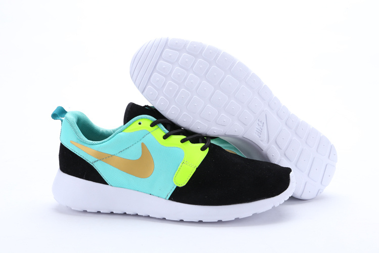 beauty special section more photos official femmes nike roshe run high vert bleu f6474 9d6eb