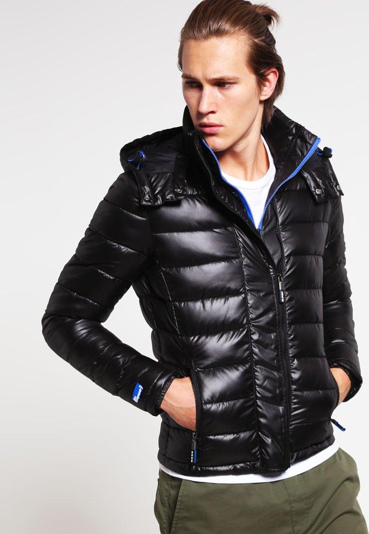38d9456b507f2 Veste Slick Black Superdry Homme Vestes D hiver Fuji boutique qFZHna