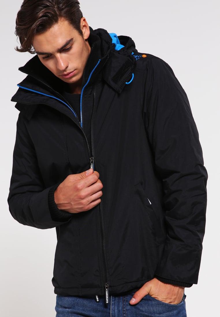 Manteau Veste Blue Vestes Black Xixnwqs0y Superdry Légère Denby Homme twqUaPyE