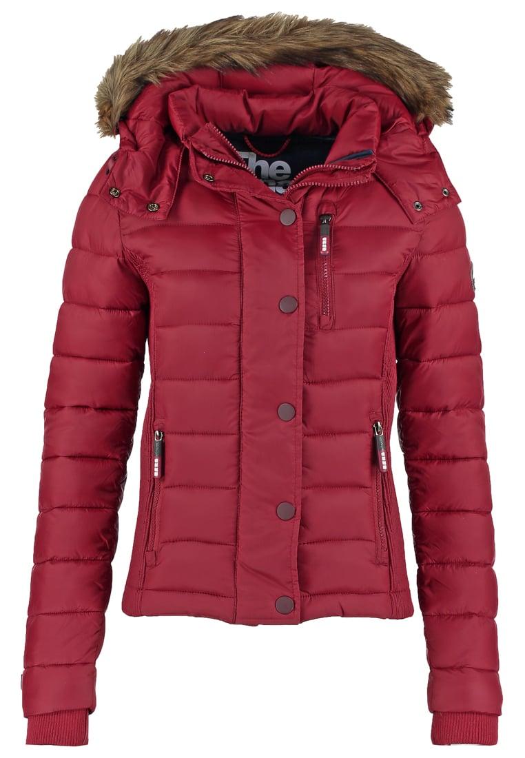 Veste Wine Vestes D'hiver Red Fuji Slim Superdry Fit Femme veste MqSVzpU