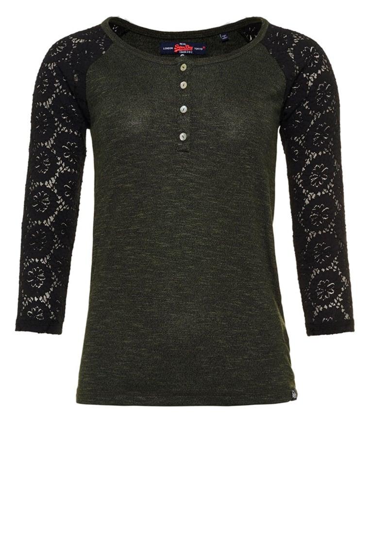 Femme Tops   T-shirts Superdry SLUB TWIST - T-shirt à manches longues ... 6ecd0793eca2